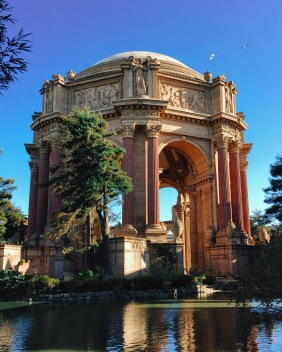 Palace Of Fine Arts, CA, 12/24/2016